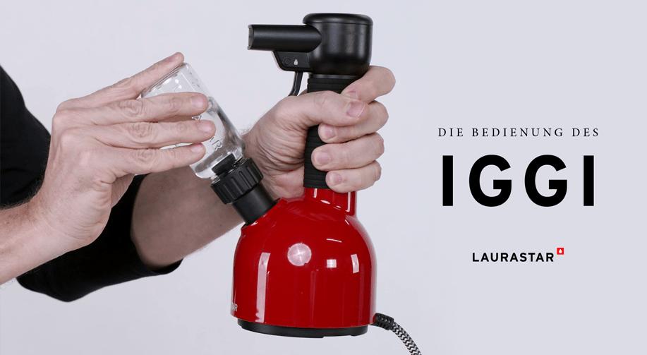 Wie man IGGI bedient?